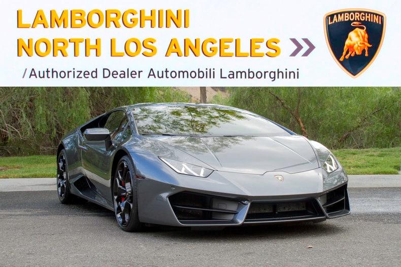 Used  Lamborghini Huracan Lp  Near Los Angeles Ca