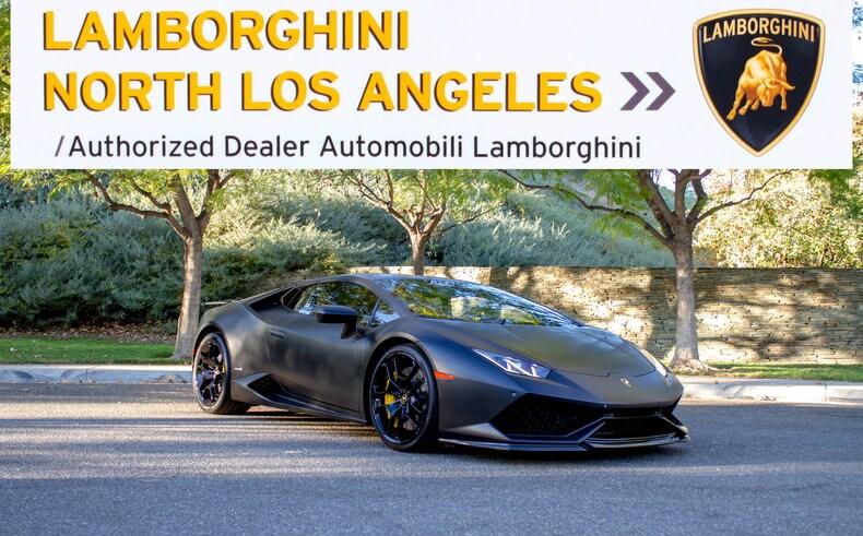Used 2015 Lamborghini Huracan Lp 610 4 For Sale At Lamborghini