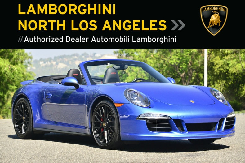 Used 2015 Porsche 911 GTS Cabriolet near Los Angeles, CA