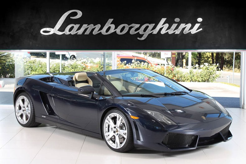 Used 2010 Lamborghini Gallardo 560 4 Spyder For Sale At