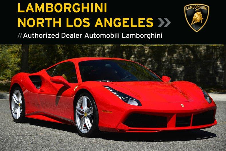 Used 2017 Ferrari 488 GTB Coupe near Los Angeles, CA