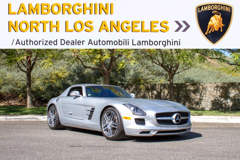 Great Used 2011 Mercedes Benz SLS AMG Coupe Near Los Angeles, CA