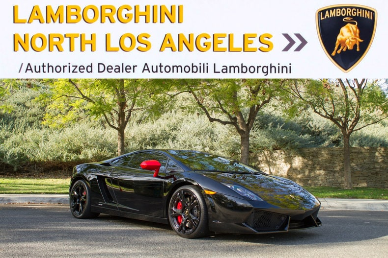 Used 2012 Lamborghini Gallardo LP 560 4 Ad Personam Coupe Near Los Angeles,  CA