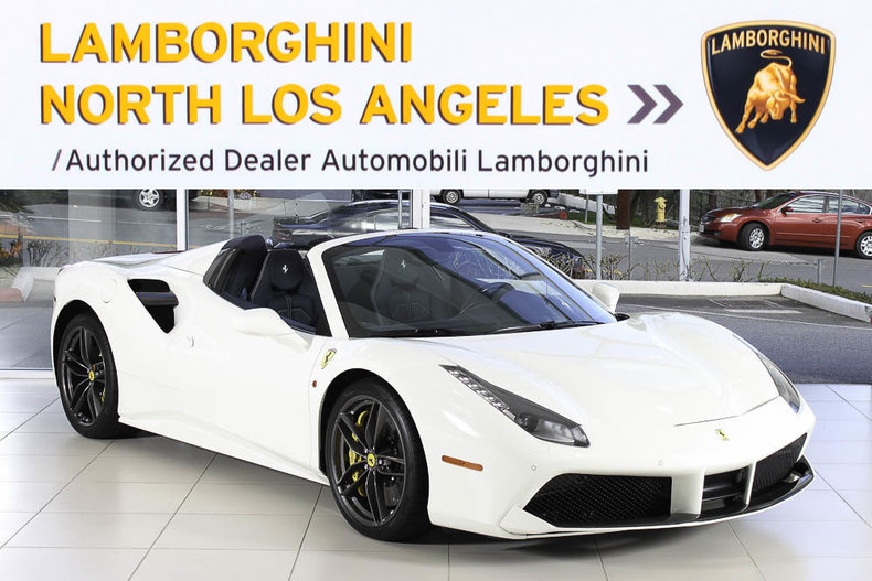 Used 2016 Ferrari 488 Spider convertible near Los Angeles, CA