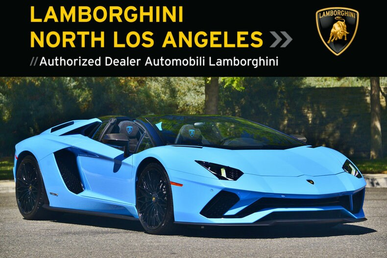 New 2019 Lamborghini Aventador S Roadster For Sale Calabasas