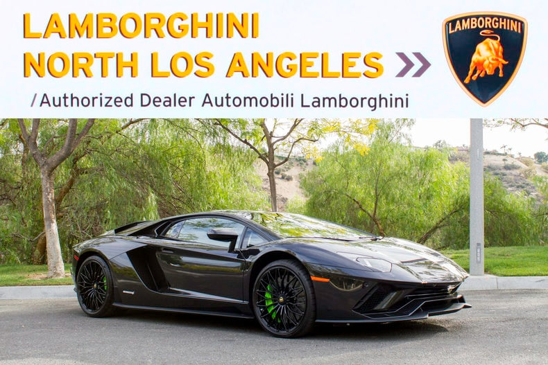 New 2018 Lamborghini Aventador S For Sale Calabasas Ca Vin