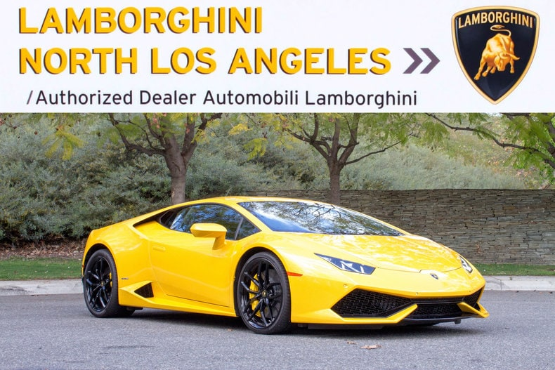 Used 2015 Lamborghini Huracan LP610-4 Coupe near Los Angeles, CA