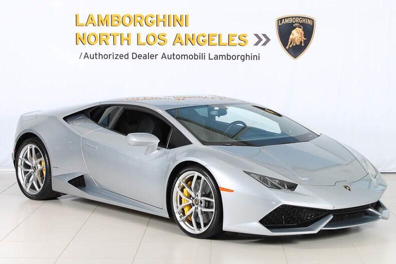 Used 2015 Lamborghini Huracan LP610-4 coupe near Los Angeles, CA