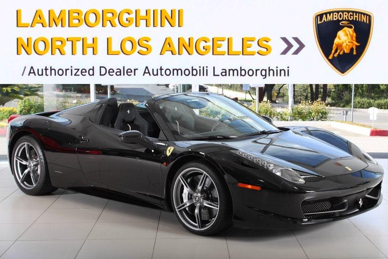 Used 2015 Ferrari 458 Italia Spider Convertible Near Los Angeles, CA