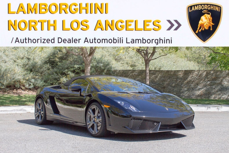 Used 2014 Lamborghini Gallardo LP 550 2 Spyder Near Los Angeles, CA