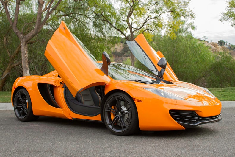 Used 2014 McLaren MP4-12C For Sale | Calabasas CA