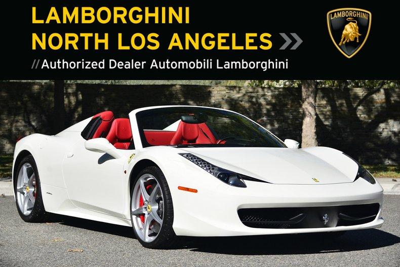 Ferrari 458 Italia For Sale >> Used 2014 Ferrari 458 Italia Spider For Sale At Lamborghini North Los Angeles Vin Zff68nha6e0200421