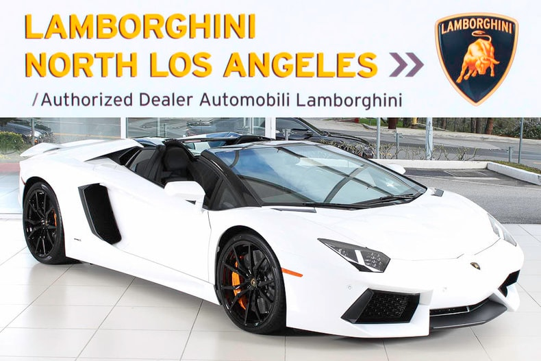 New 2017 Lamborghini Aventador Roadster For Sale Calabasas Ca