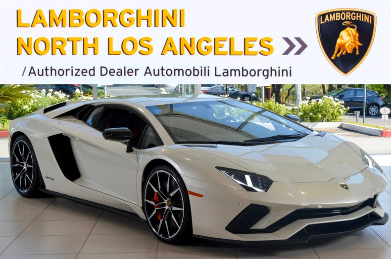 Used 2017 Lamborghini Aventador S coupe near Los Angeles, CA