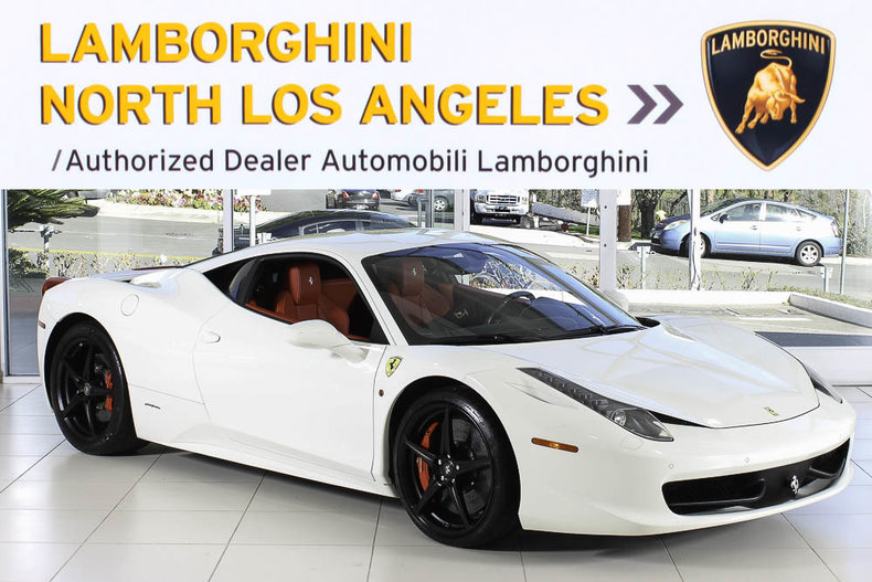 Ferrari 458 Italia For Sale >> Used 2015 Ferrari 458 Italia For Sale At Lamborghini North Los