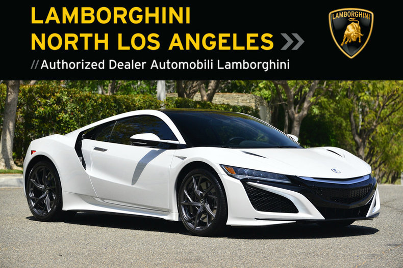 Used 2017 Acura Nsx For Sale Calabasas Ca