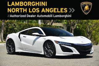 Used 2017 Acura NSX near Los Angeles, CA