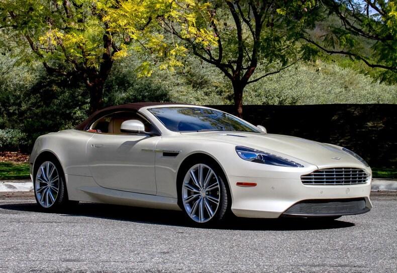 Used 2014 Aston Martin Db9 For Sale Calabasas Ca
