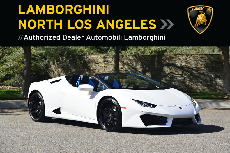 New 2018 Lamborghini Huracan Lp580 2 Spyder For Sale