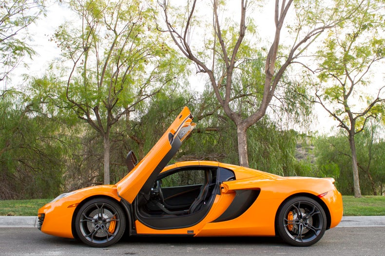 ... Used 2014 McLaren MP4 12C Coupe Near Los Angeles, CA ...