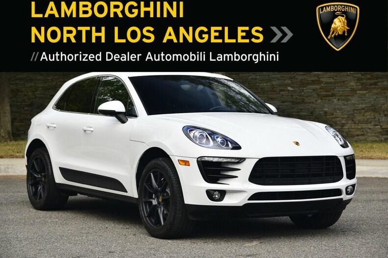 Used 2016 Porsche MACAN S near Los Angeles, CA