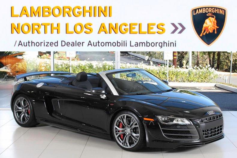 Used 2012 Audi R8 Gt Spyder For Sale At Lamborghini North Los