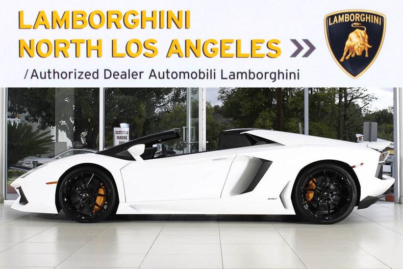 New 2017 Lamborghini Aventador Roadster For Sale