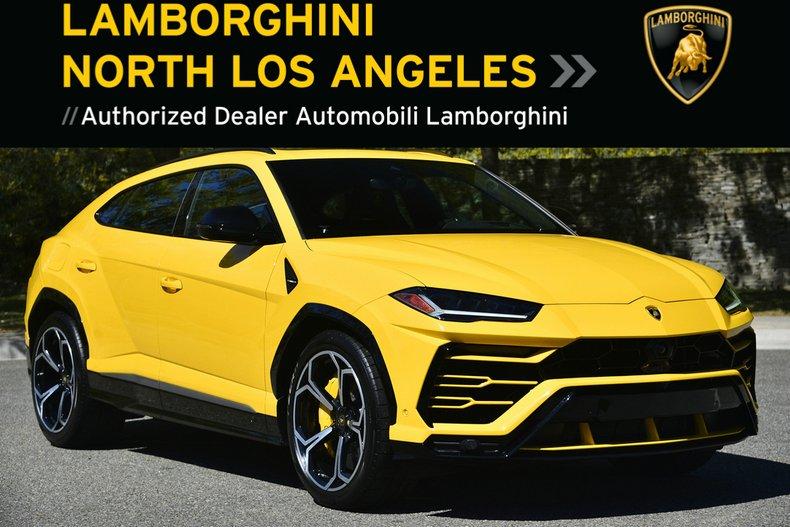 Used 2019 Lamborghini Urus SUV near Los Angeles, CA