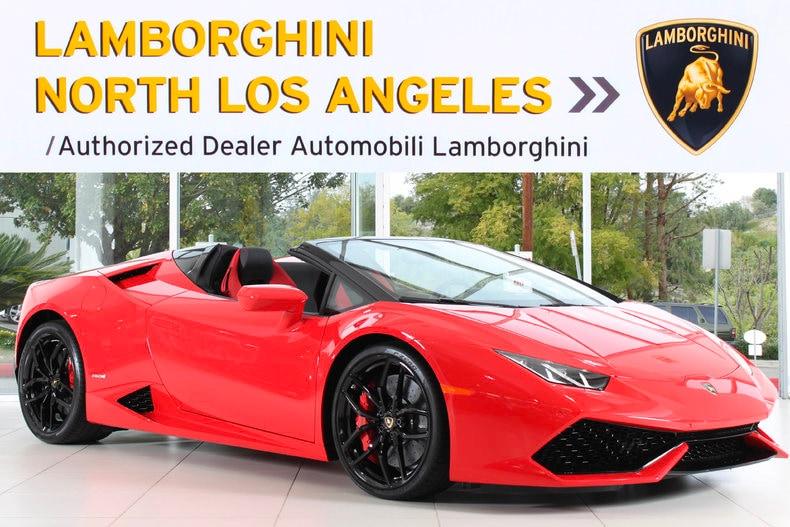 New 2017 Lamborghini Huracan Spyder For Sale Calabasas