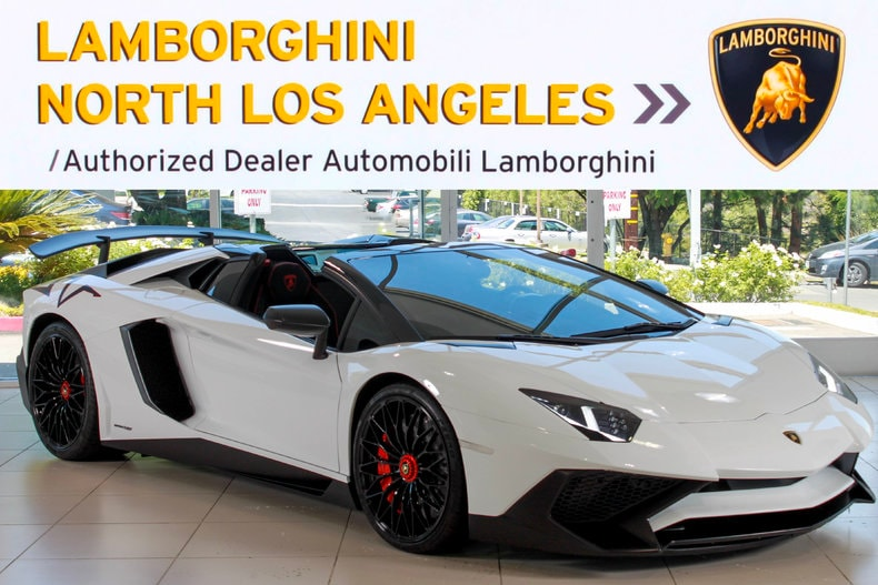 Used 2017 Lamborghini Aventador Sv For Sale At Lamborghini North