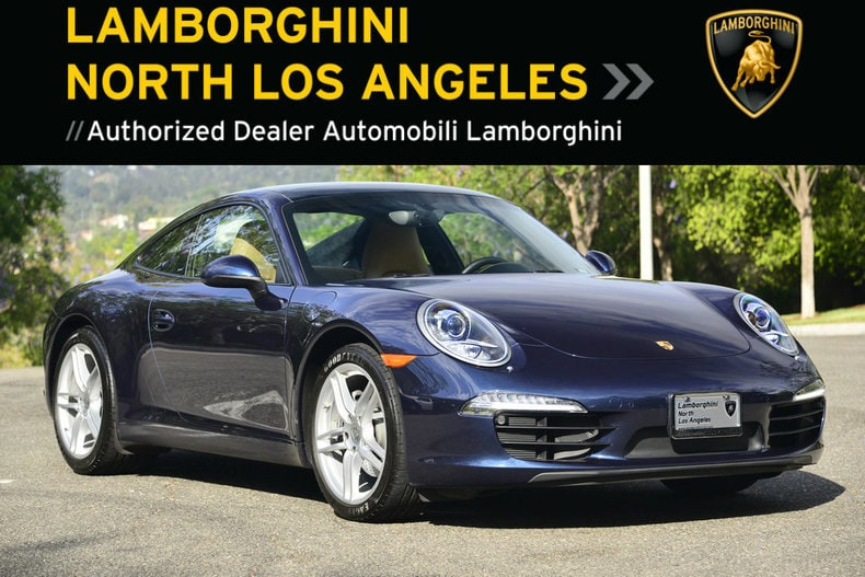 Used 2016 Porsche 911 Carrera coupe near Los Angeles, CA