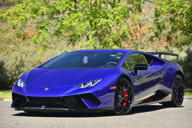 Suv Lease Specials >> Used 2018 Lamborghini Huracan Performante For Sale at ...