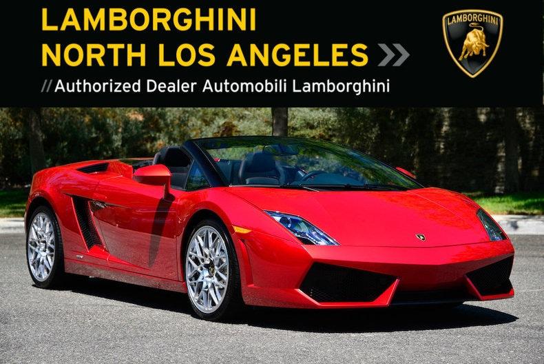 used 2010 lamborghini gallardo 560-4 spyder for sale at