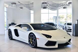 2015 Lamborghini Aventador Coupe