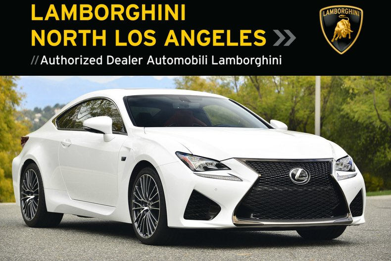 Used 2015 LEXUS RC-F Coupe near Los Angeles, CA