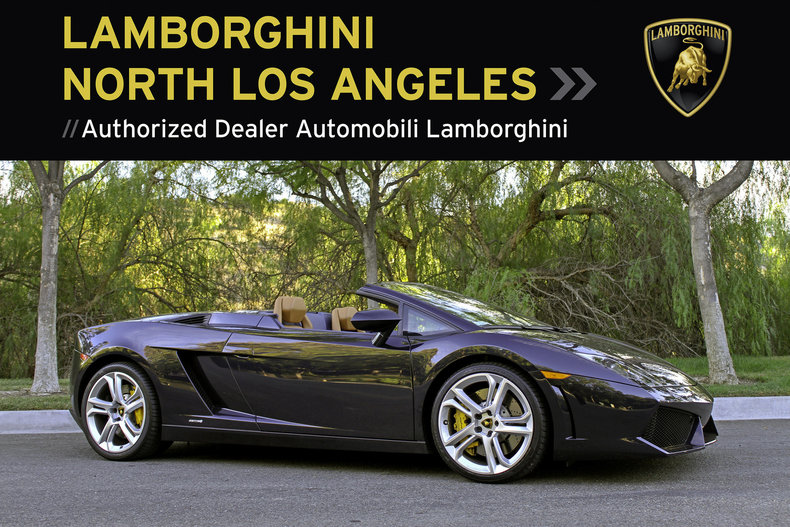 Used 2011 Lamborghini Gallardo LP 560-4 Spyder near Los Angeles, CA
