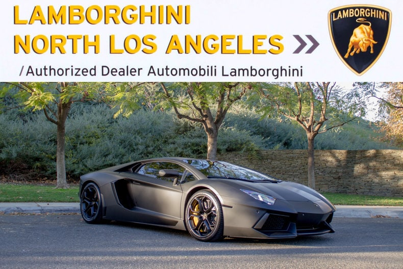 Used 2012 Lamborghini Aventador coupe near Los Angeles, CA