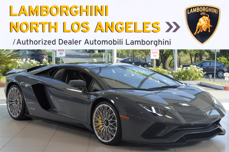 New 2017 Lamborghini Aventador S For Sale Calabasas Ca Vin