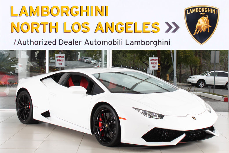 Used 2015 Lamborghini Huracan LP610-4 near Los Angeles, CA