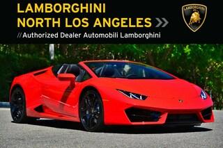 New 2018 Lamborghini Huracan LP580-2 Spyder near Los Angeles, CA