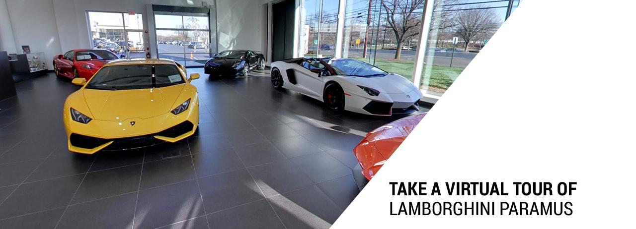 Take A Virtual Tour Of Lamborghini Paramus Dealer Serving Jersey