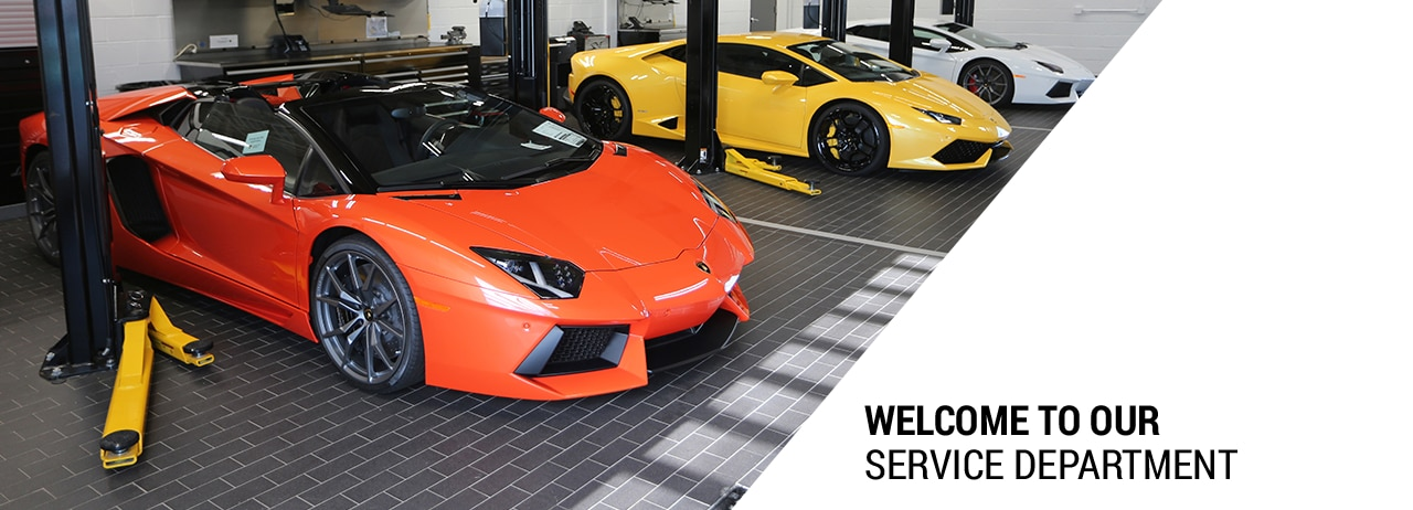 Service Department Lamborghini Paramus Serving Jersey City Nj