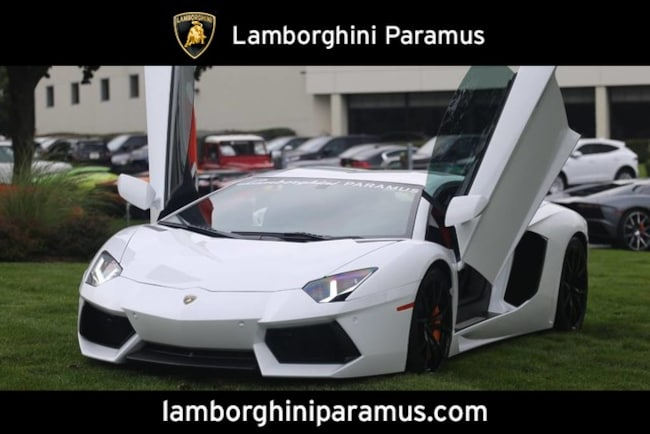 Used 2013 Lamborghini Aventador For Sale At Lamborghini Paramus