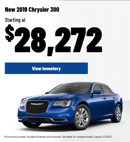 New 2019 Chrysler 300 | Purchase