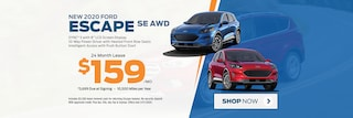 2020 Escape Lease Special Offer