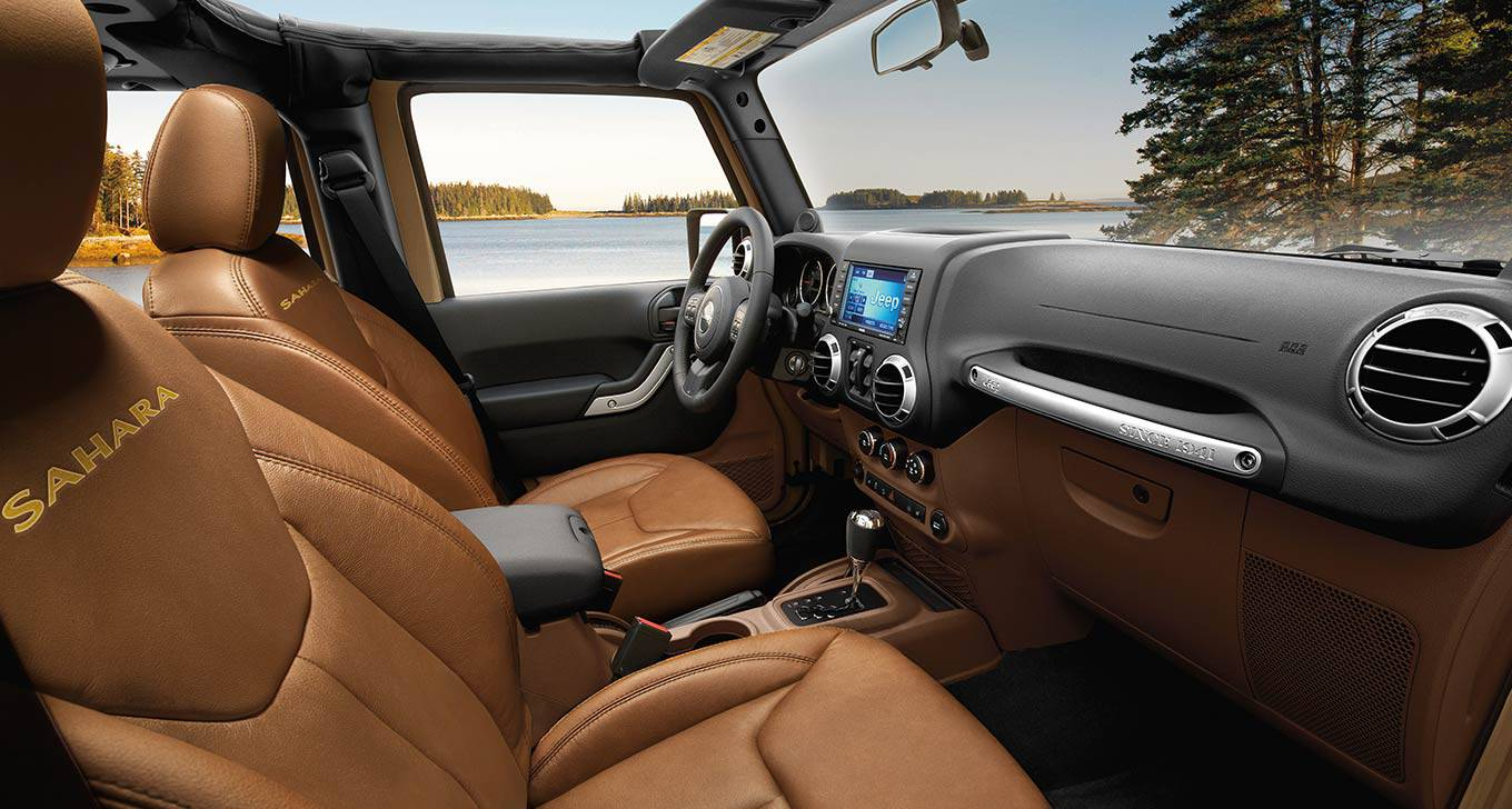 2016 Wrangler Unlimited Leather Interior
