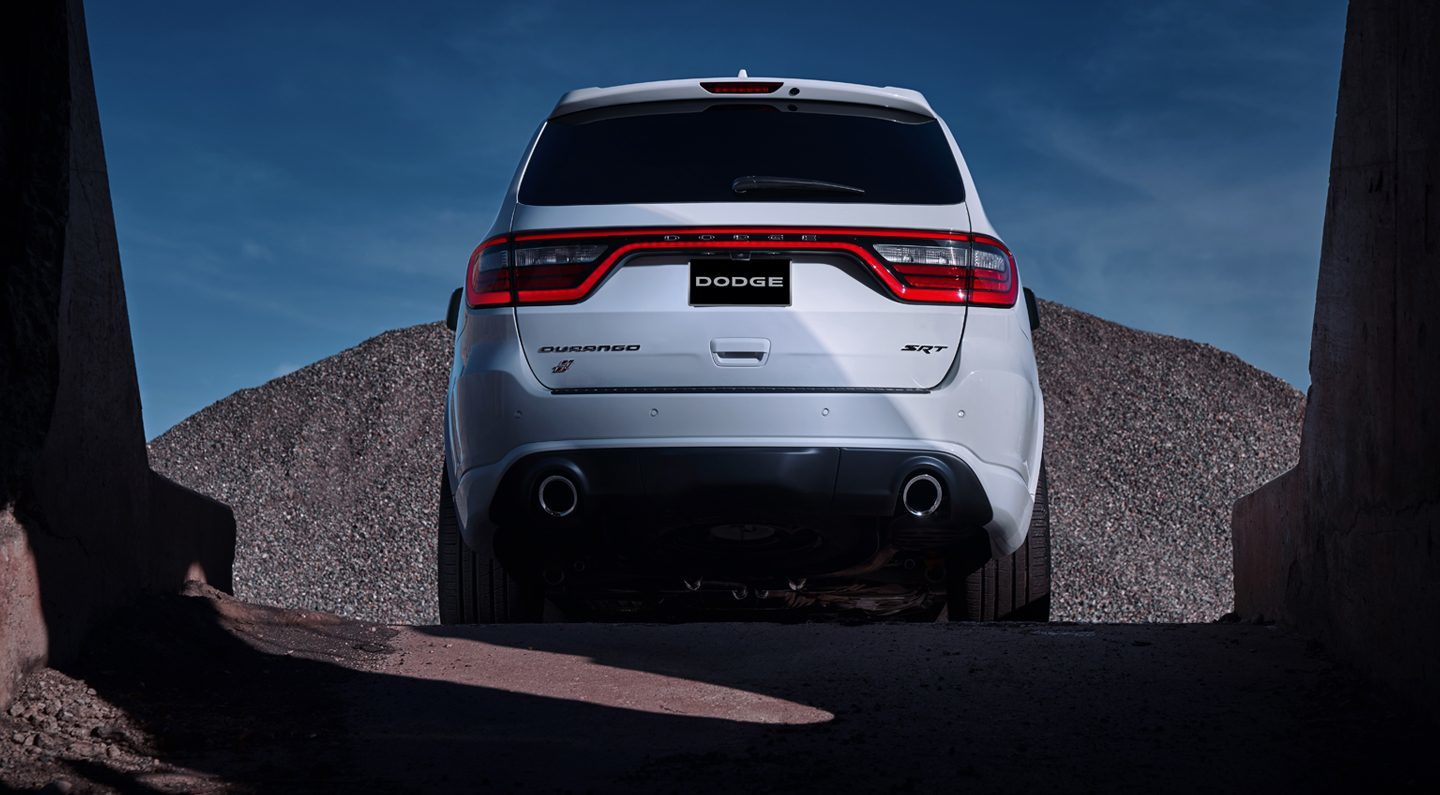 2018 Dodge Durango SRT Rear Exterior