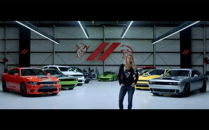 Muscle Heaven Dodge Commercial Still