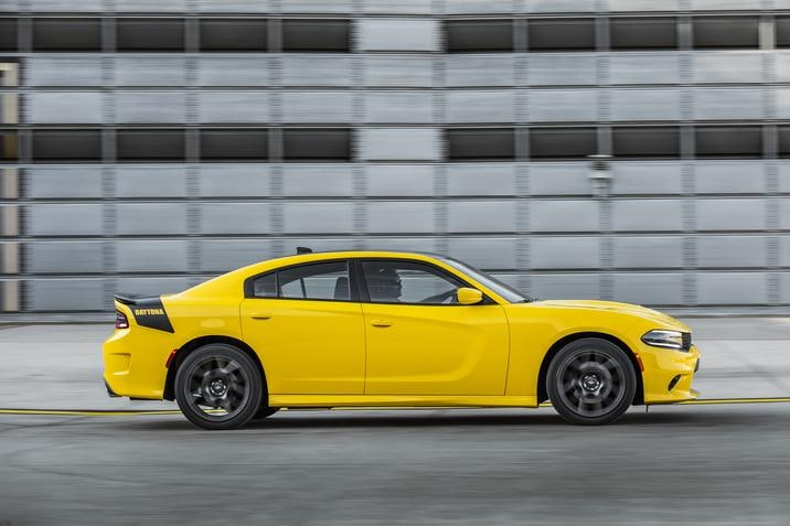 2018 Dodge Charger Daytona 392 Yellow Side Exterior