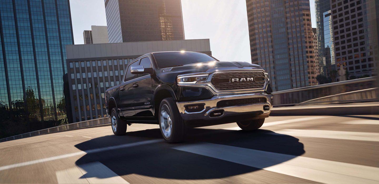 2019 Ram 1500 Black Front Exterior